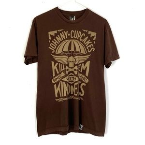 2/$34 Johnny Cupcakes Collectors Tshirt